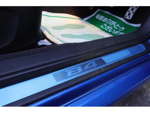 tuned by STI HKS車高調 STIマフラー STIターボ計 タイミングベルト交換済 純正18AW リアスポイラー ブレンボキャリパー ハーフレザーシート HIDヘッドライト HDDナビ フルセグ MSV(36枚目)