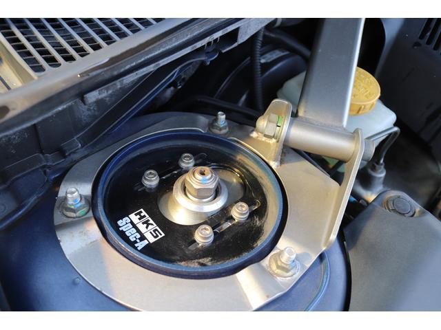 tuned by STI HKS車高調 STIマフラー STIターボ計 タイミングベルト交換済 純正18AW リアスポイラー ブレンボキャリパー ハーフレザーシート HIDヘッドライト HDDナビ フルセグ MSV(44枚目)
