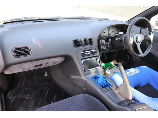 タイプX HKSマフラー HKS車高調 スパルコ製フルバケ PITTURAステアリング Pivotファンコントローラー 社外17インチアルミホイール(11枚目)