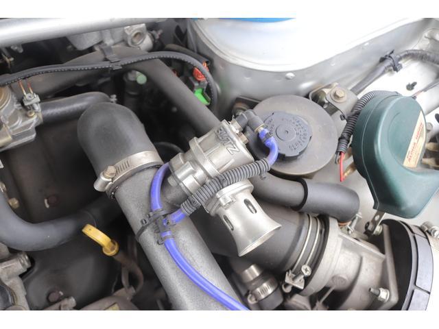 タイプX 社外エアロ BLITZターボタイマー BLITZインタークーラー BLITZエアクリ BLITZブローオフバルブ カーボンボンネット F・Rタワーバー 追加メーター 社外マフラー 社外16AW ナビ(34枚目)