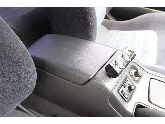 タイプX 社外エアロ BLITZターボタイマー BLITZインタークーラー BLITZエアクリ BLITZブローオフバルブ カーボンボンネット F・Rタワーバー 追加メーター 社外マフラー 社外16AW ナビ(51枚目)