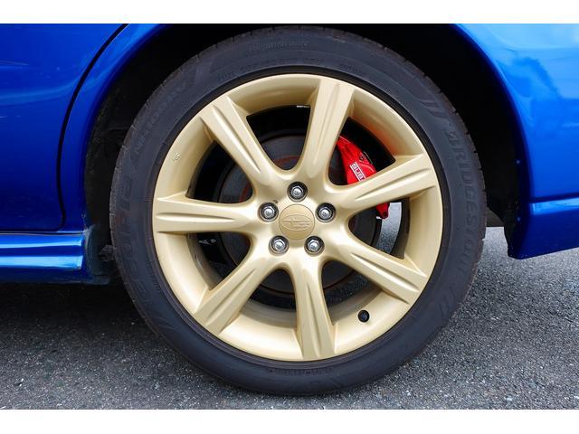 WRX BLITZ車高調 STIターボ計 純正17インチアルミホイール ディスプレイオーディオ ワンセグ ETC 5MT ターボ 大型リアウイング(28枚目)