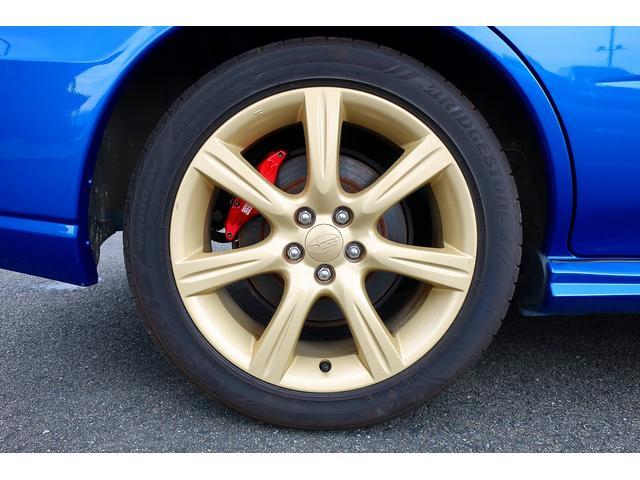 WRX BLITZ車高調 STIターボ計 純正17インチアルミホイール ディスプレイオーディオ ワンセグ ETC 5MT ターボ 大型リアウイング(29枚目)