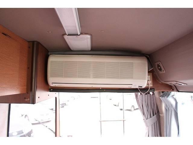 トヨタ コースター キャンピング ロータスRV FFヒーター エアコン付き