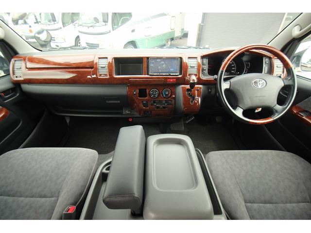 トヨタ ハイエースワゴン トイファクトリー トイクルーズ 出窓 FFヒーター ナビ