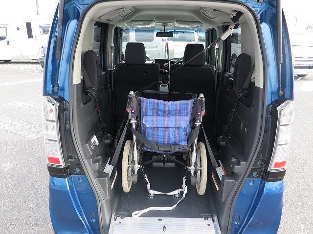福祉車両 スロープ 車椅子1基 電動ウインチ 片側パワスラ(4枚目)