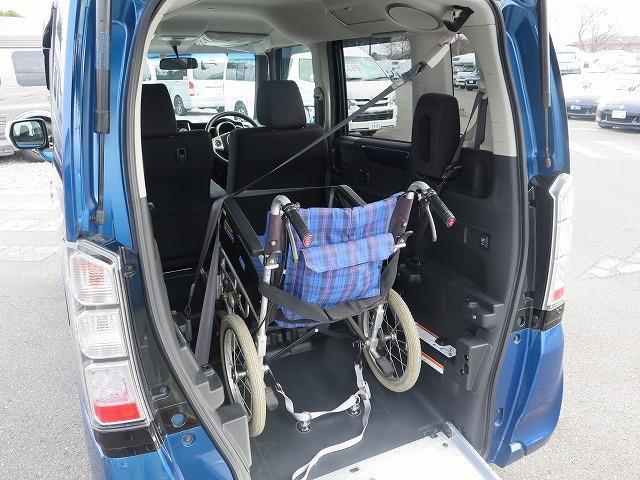福祉車両 スロープ 車椅子1基 電動ウインチ 片側パワスラ(6枚目)