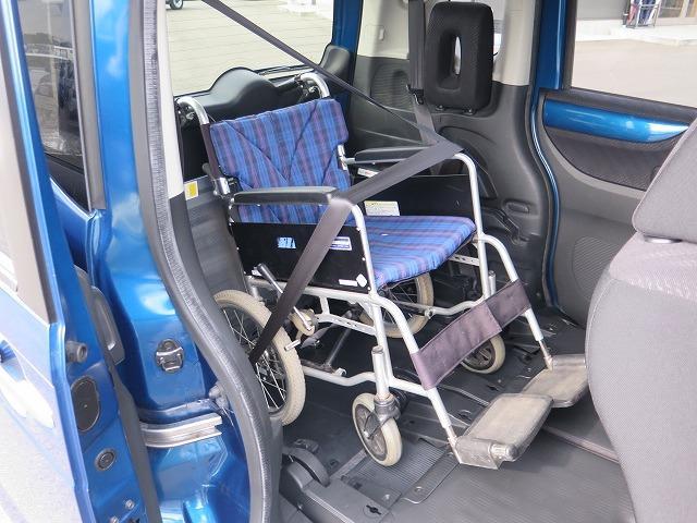 福祉車両 スロープ 車椅子1基 電動ウインチ 片側パワスラ(7枚目)