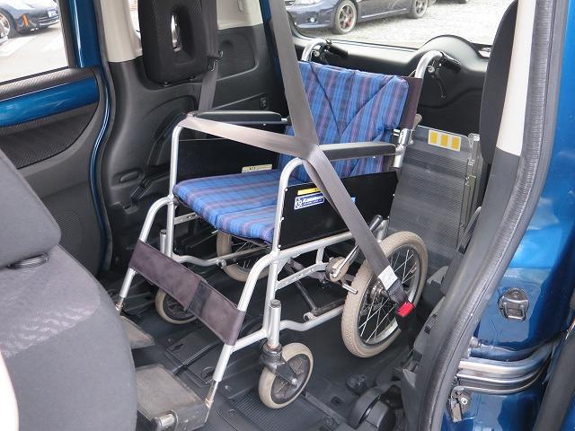 福祉車両 スロープ 車椅子1基 電動ウインチ 片側パワスラ(8枚目)