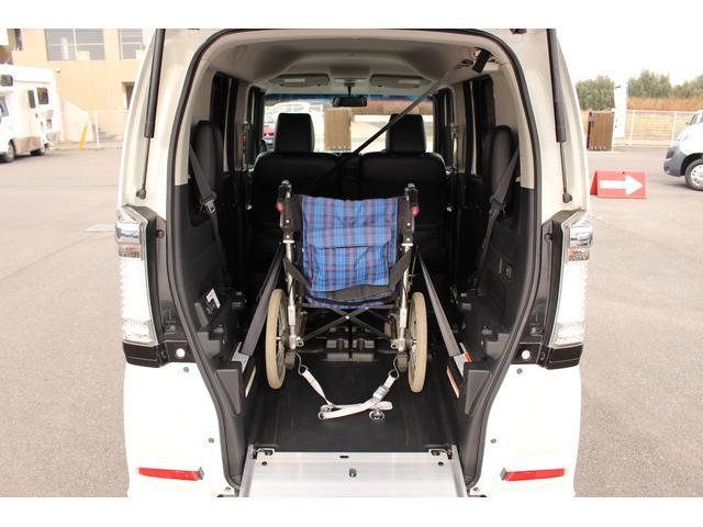 福祉車両 スロープ 車椅子1基 電動ウインチ ナビ HID(6枚目)