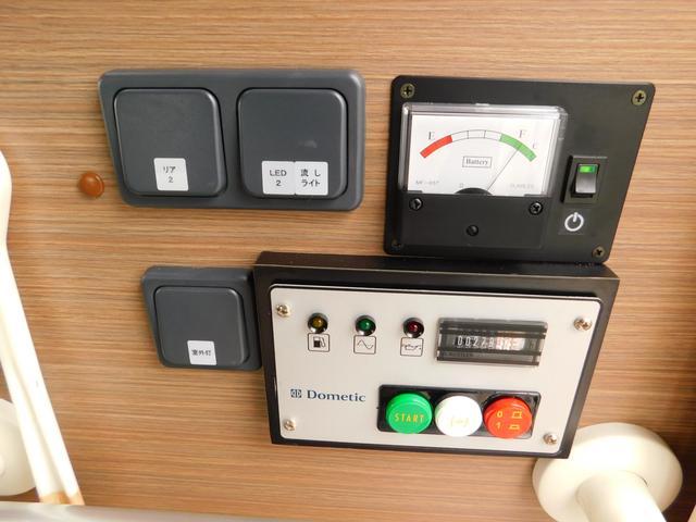トヨタ ハイエースバン アネックス リバティNS-S 家庭エアコン 発電機 エアサス