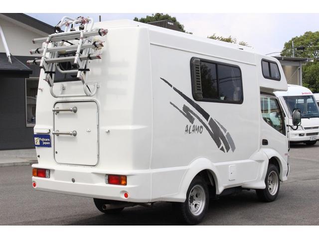 トヨタ ダイナトラック AtoZ アラモ FFヒーター インバーター1000W ナビ