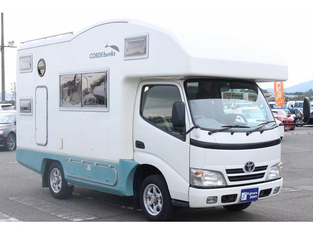 トヨタ カムロード バンテック コルドバンクス 二段ベッド FFヒーター ETC