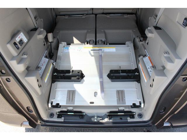 福祉車輌 スロープ 電動ウィンチ 車いす固定装置(11枚目)