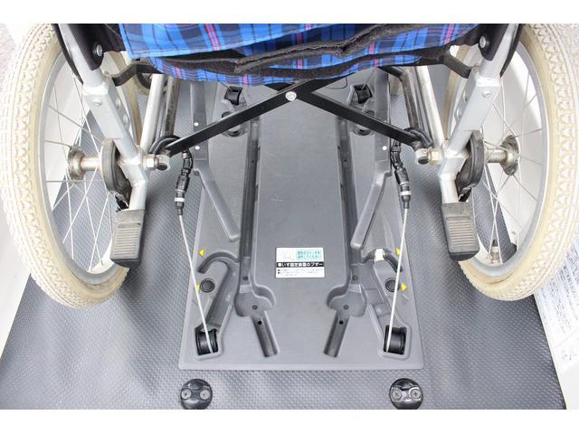 福祉車両 Bタイプ 電動車いす固定 補助手すり リフト(5枚目)