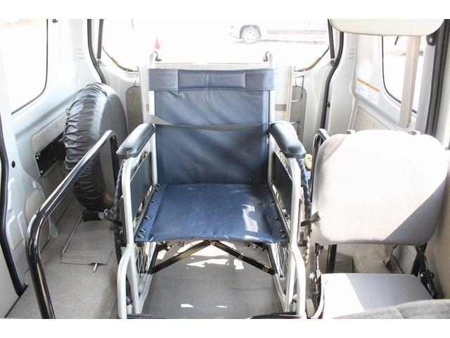 WITHシリーズ 福祉車両 スロープ 車いす移動車 補助席付(10枚目)