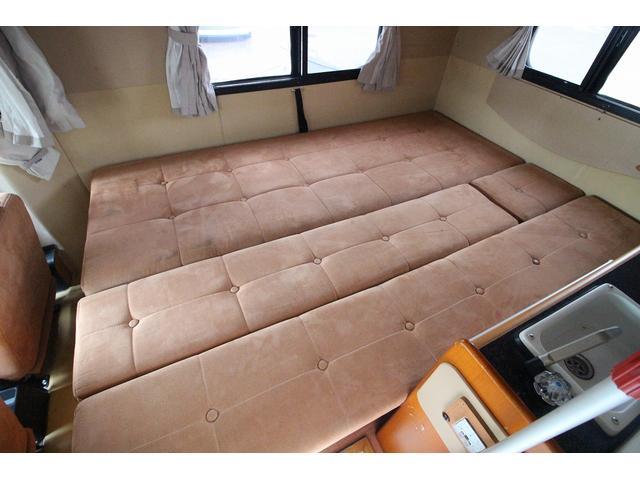 ダイネットベッドは190×130の広々サイズです!