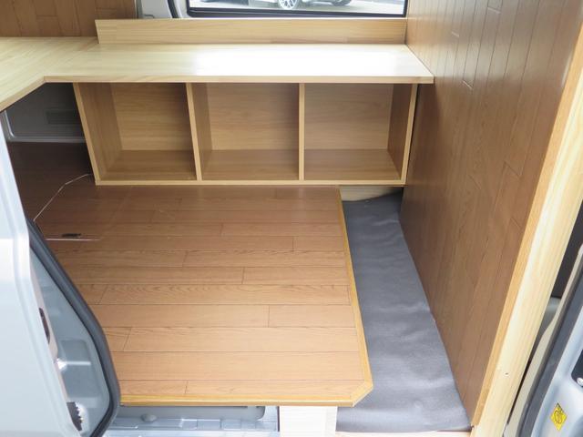 3連収納ボックス付き! 小さめのイスを置けば室内で座る事も可能です〇