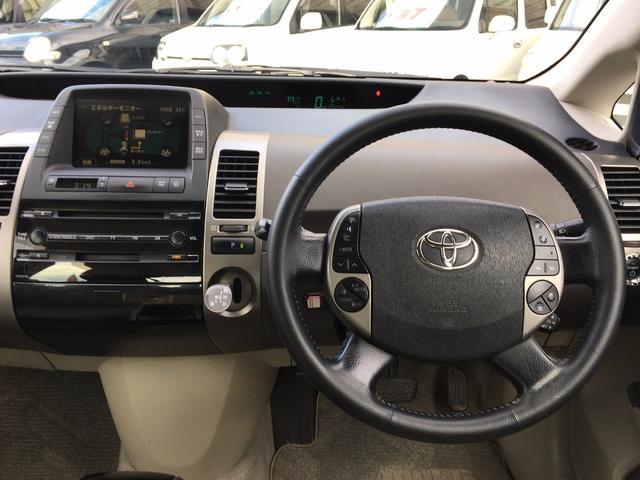トヨタ プリウス G HDDナビ バックカメラ クルコン エアロ