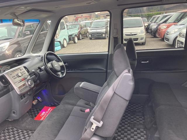 カスタムRS 電動スライドドア HID CD スマートキー 電動格納ミラー シートヒーター ベンチシート CVT ターボ アルミホイール(7枚目)
