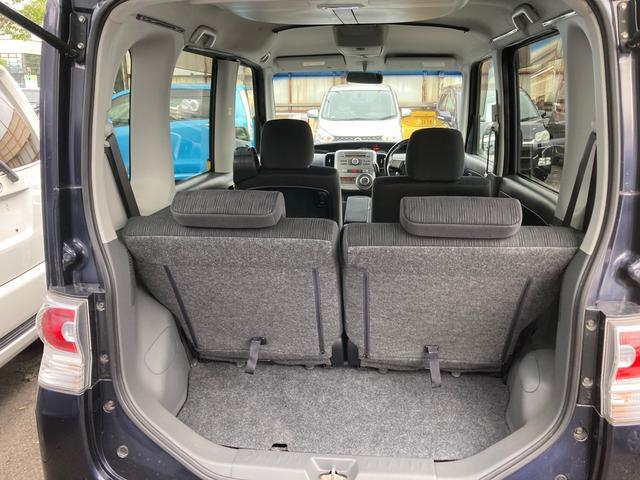 カスタムRS 電動スライドドア HID CD スマートキー 電動格納ミラー シートヒーター ベンチシート CVT ターボ アルミホイール(17枚目)