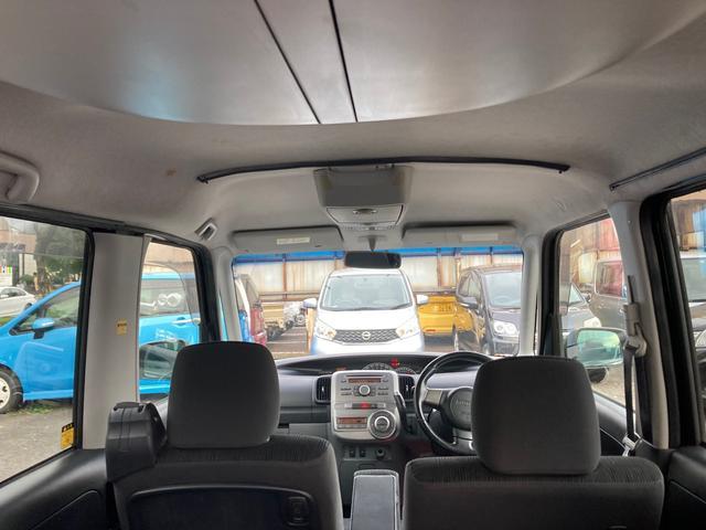 カスタムRS 電動スライドドア HID CD スマートキー 電動格納ミラー シートヒーター ベンチシート CVT ターボ アルミホイール(18枚目)