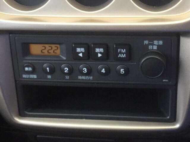 ホンダ アクティバン SDX AM FMラジオ キーレスエントリー パワステ