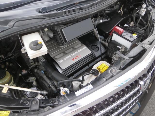 トヨタ アルファードG MS HDDナビTV 社外アルミ タイミングベルト交換済み