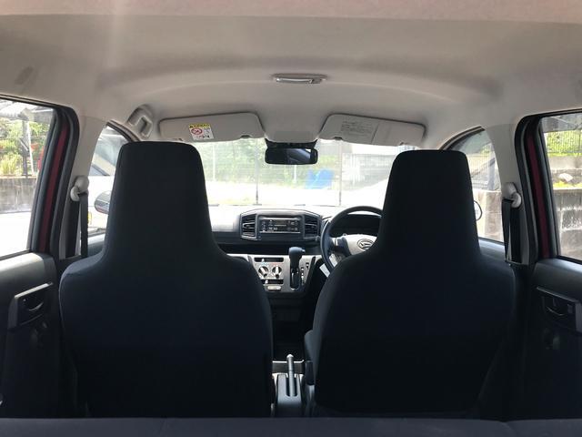 ダイハツ ミライース L SAIII ワンオーナー車 キーレス 安全装備付