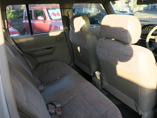 日産 ラシーン タイプII CD キーレス ルーフレール 背面タイヤ 取説