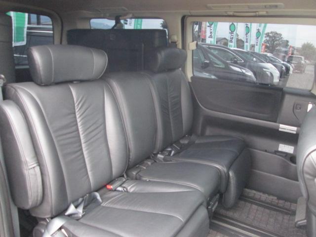 日産 エルグランド 250ハイウェイスター ブラックレザーED 純正HDDナビ