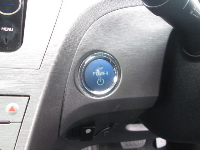 エンジンスタートはブレーキを踏んでスイッチを押すだけ♪キーを差す手間もなくカンタンでスムーズです☆