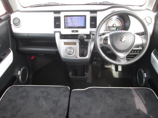 X デュアルカメラブレーキサポート SDナビフルセグTV DVD Bluetooth 前席左右シートヒーター HIDライト アルミ ドアミラーウインカー アイドリングストップ(9枚目)