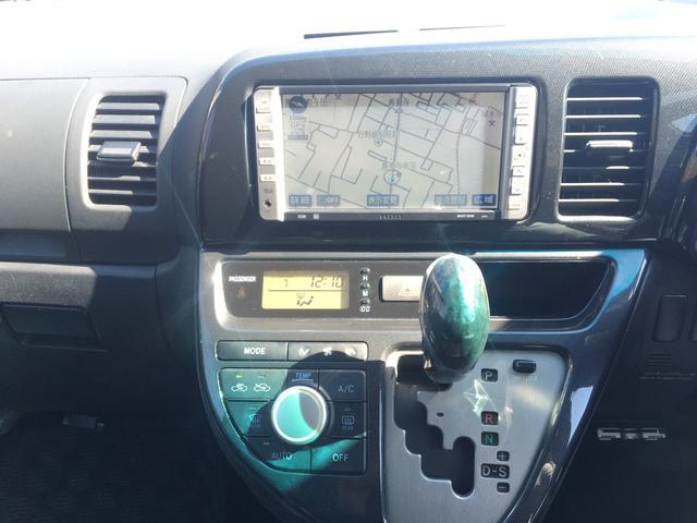 トヨタ ウィッシュ X エアロスポーツパッケージ HDDナビ 1オーナー ローン