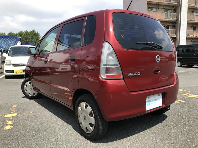 日産 モコ B 女性オーナー車 17ー27年点検記録簿付