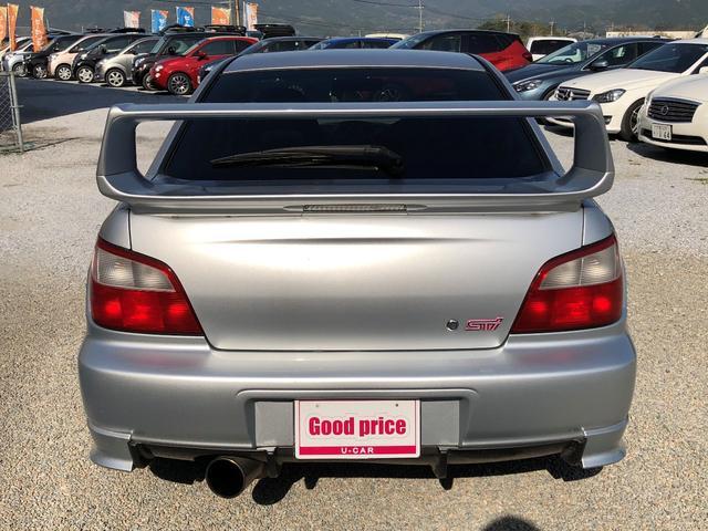 WRX STi フジツボマフラー TEIN車高調 17AW(5枚目)