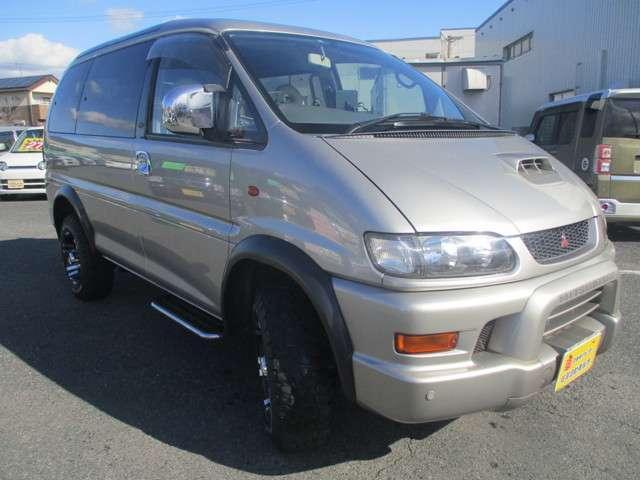 三菱 デリカスペースギア スーパーエクシード 4WD 社外16AW