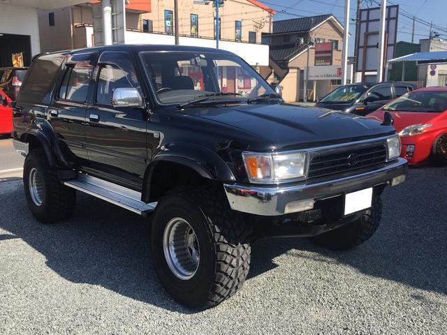 トヨタ ハイラックスサーフ SSR-X LTD ワイド ボデー ディーゼルターボ 4WD