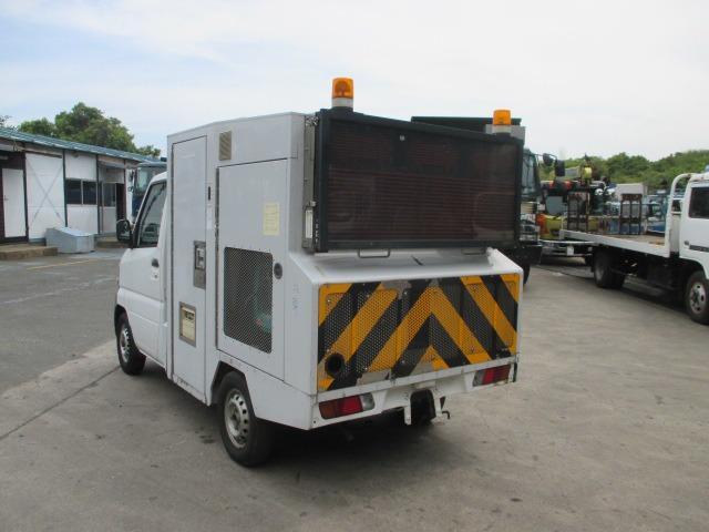 三菱 ミニキャブトラック 移動式簡易トイレ ディーゼル発電機付 極東製 パワステ