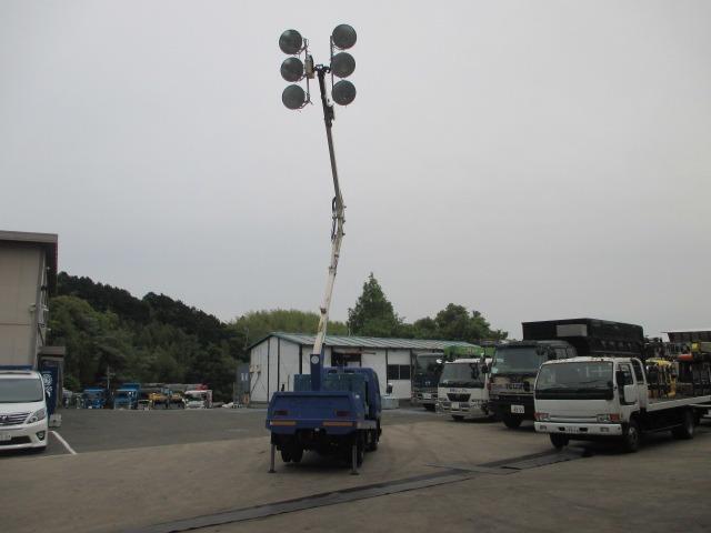 三菱ふそう キャンター 照明車 作業車 デンヨー発電機付 パワステ エアコン