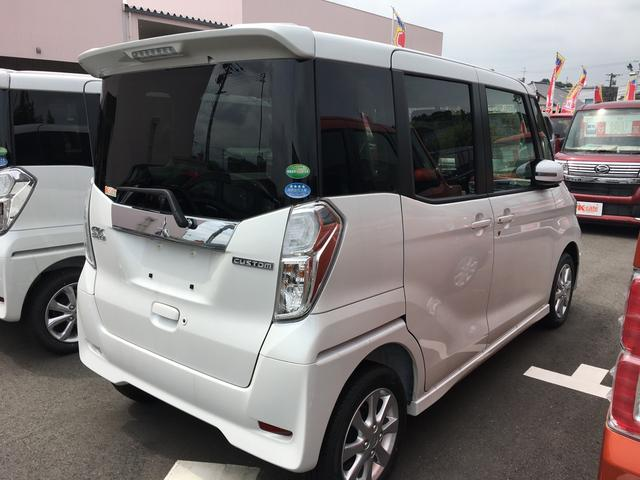 三菱 eKスペース Custom G 届出済未使用車 盗難防止 禁煙車