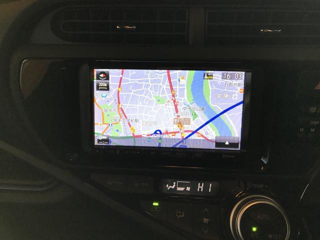 トヨタ アクア S ナビ Bluetooth接続 バックカメラ TV ETC