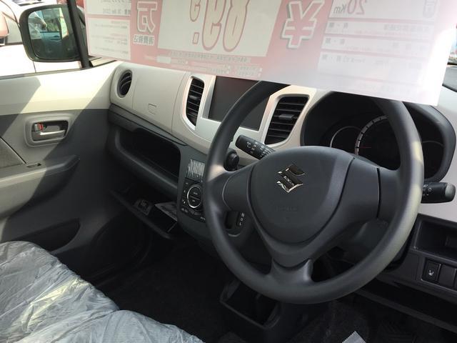 スズキ ワゴンR FX 届出済未使用車 盗難防止 禁煙車