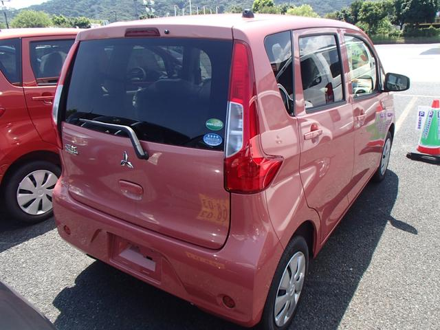 三菱 eKワゴン E 届出済未使用車 禁煙車 盗難防止
