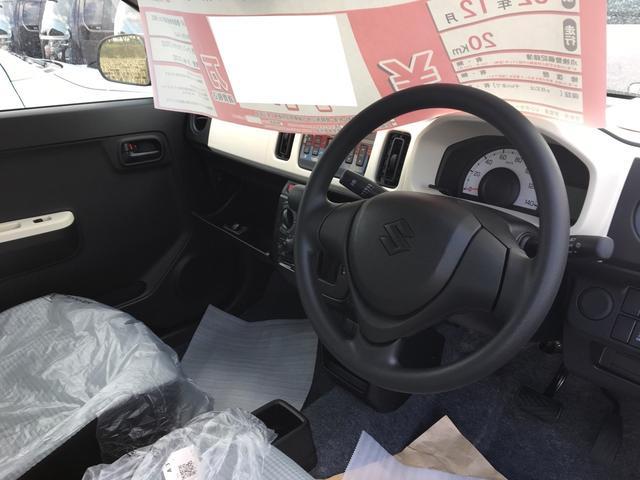 スズキ アルト F レーダーブレーキサポート装 届出済未使用車