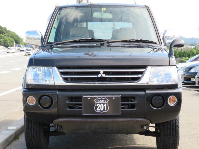 三菱 パジェロミニ XR 新品タイミングベルト・ウォ-タ-ポンプ交換 背面タイヤ