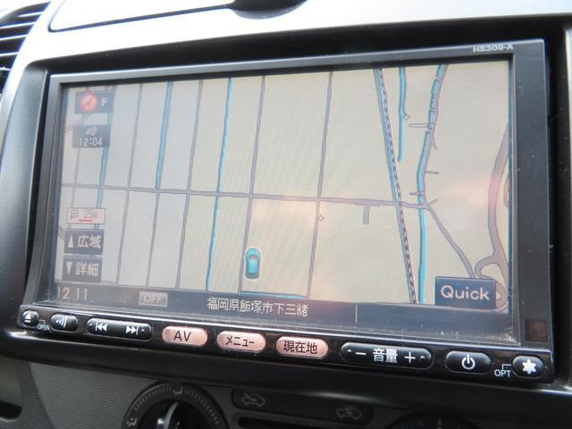 HDDナビ付なのでドライブも安心ですね!!