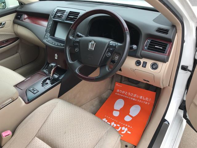 ロイヤルサルーン 車高調 社外19アルミ HDDナビ DVD(9枚目)