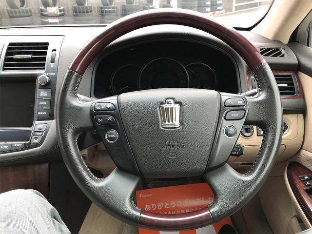 ロイヤルサルーン 車高調 社外19アルミ HDDナビ DVD(12枚目)
