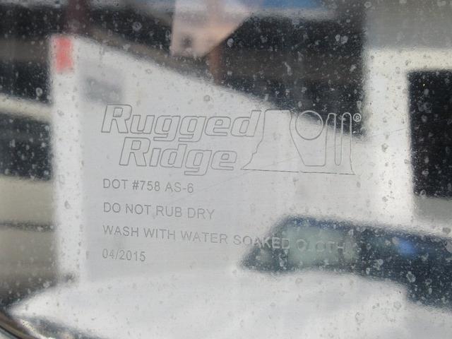 RuggedRidge04/2015製造品